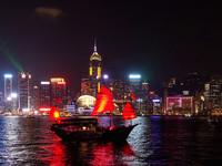 Гонконг. Убегающий в небо...