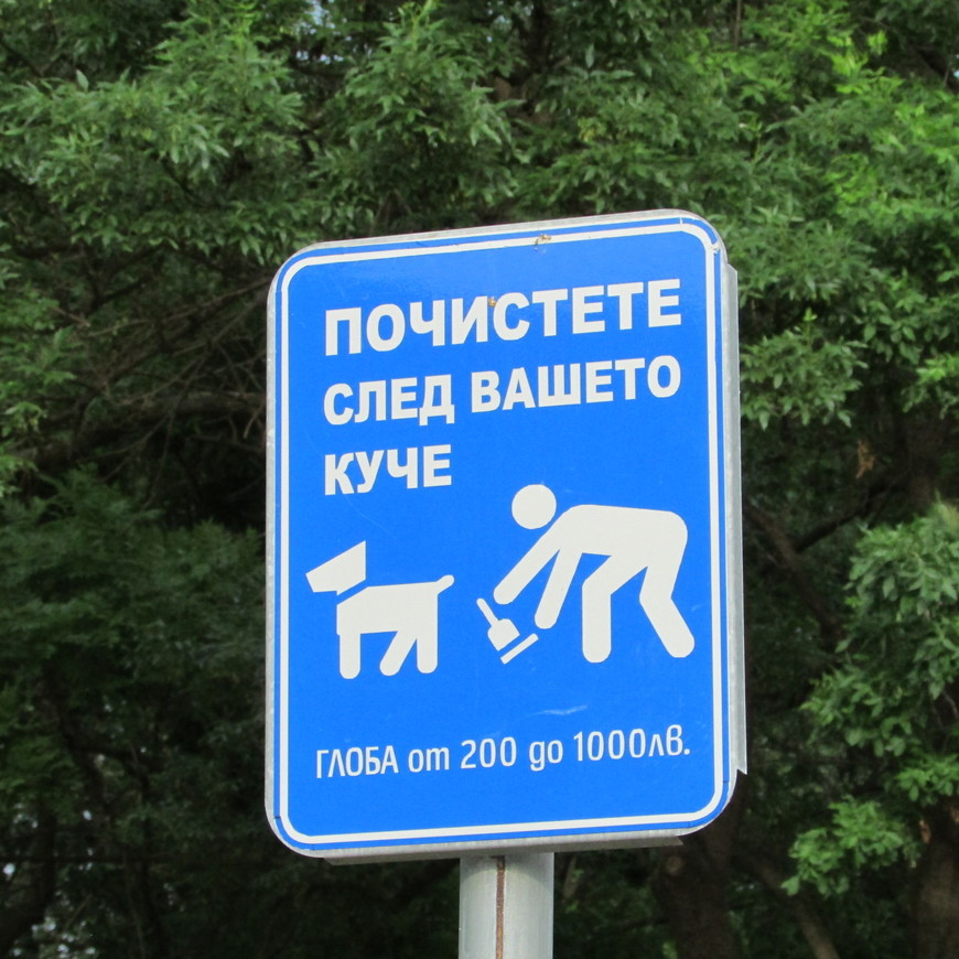 Все понятно, даже если не знаешь болгарского.