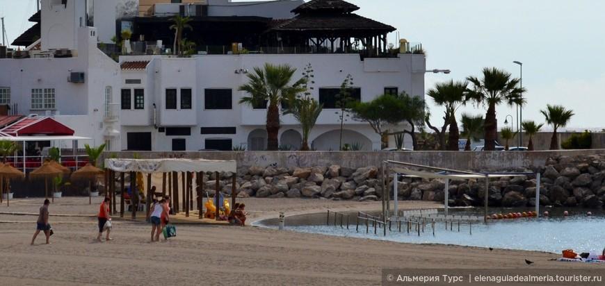 Один из самых тихих пляжей в Агуадульсе.