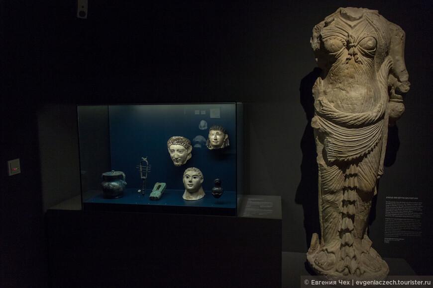 Всего античное собрание музея составляет 5500 объектов