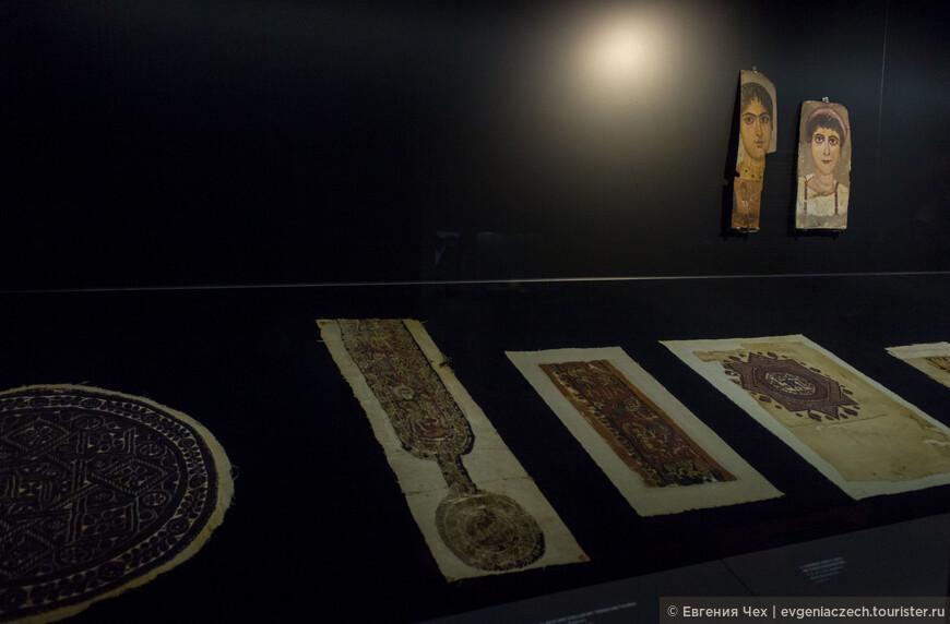 Чудесные вышивки из древнего Египта сохранились благодаря сухому климату пустыни