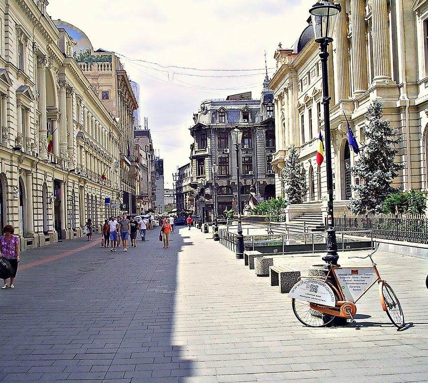 Пешеходная улица Смардан.