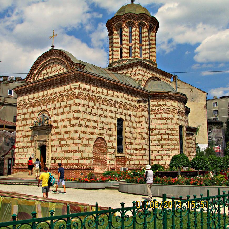 Церковь св. Антона. Втор. пол XVI в. Самая старая в городе. Здесь в течение 300 лет короновались валашские господари.