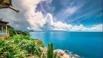 Вид на Чавенг с пляжа Cristal Bay, 00:31