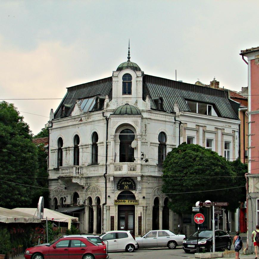 Улицы Варны в старой части  города.