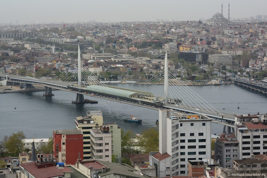 Вид на мост Халич