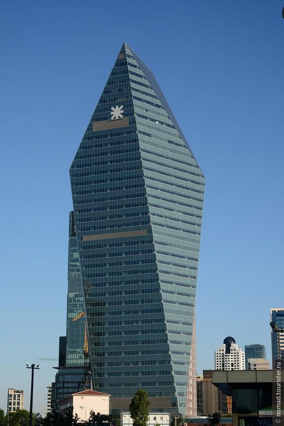 Kristal Kule Finansbank Headquarters, высота 169 м