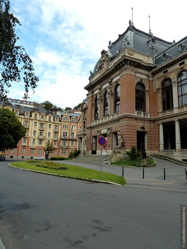 Императорская лечебница. Лечебница была построена для императора Франца Иосифа. В настоящее время в ней располагается музей.