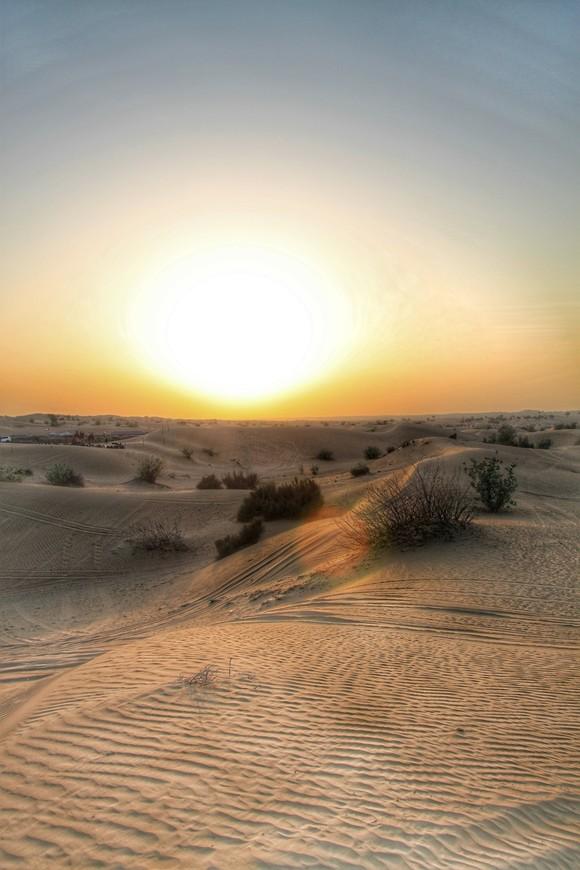 Руб-эль-Хали - одна из самых жарких пустынь, со средним максимумом температуры воздуха 47 градусов, и самая сухая.