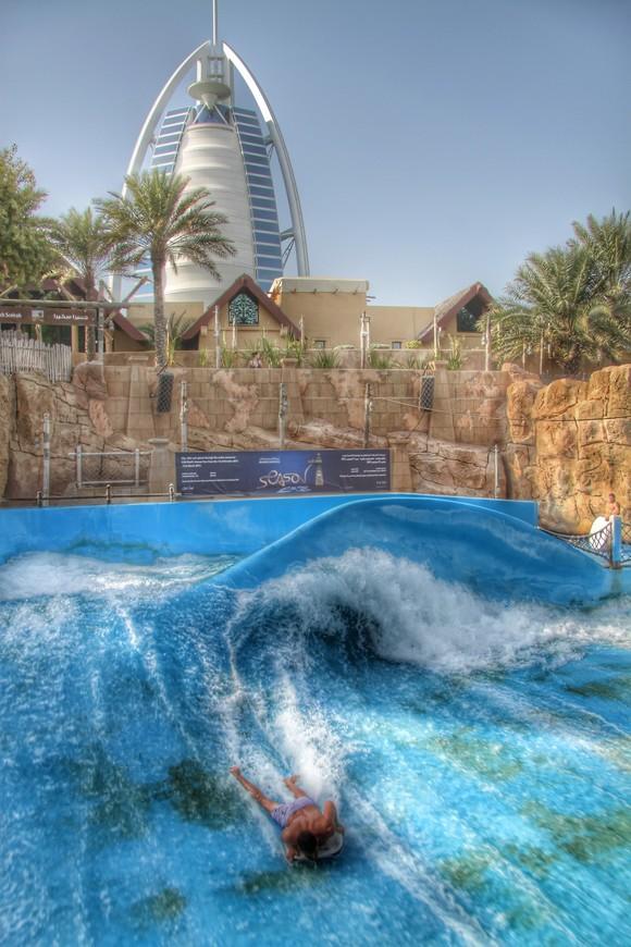 Wild Wadi Water Park — водный парк развлечений, расположенный в центральной части города Дубай в ОАЭ, в районе Джумейра. Аквапарк с головокружительными горками и аттракционами, построенный по мотивам сказки «Приключения Аладдина».