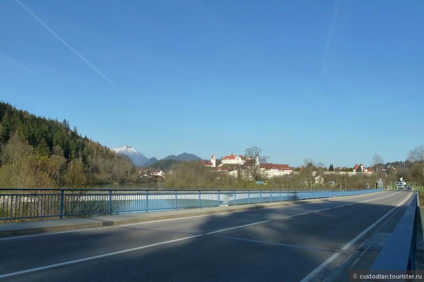переходим по мосту через р.Лех