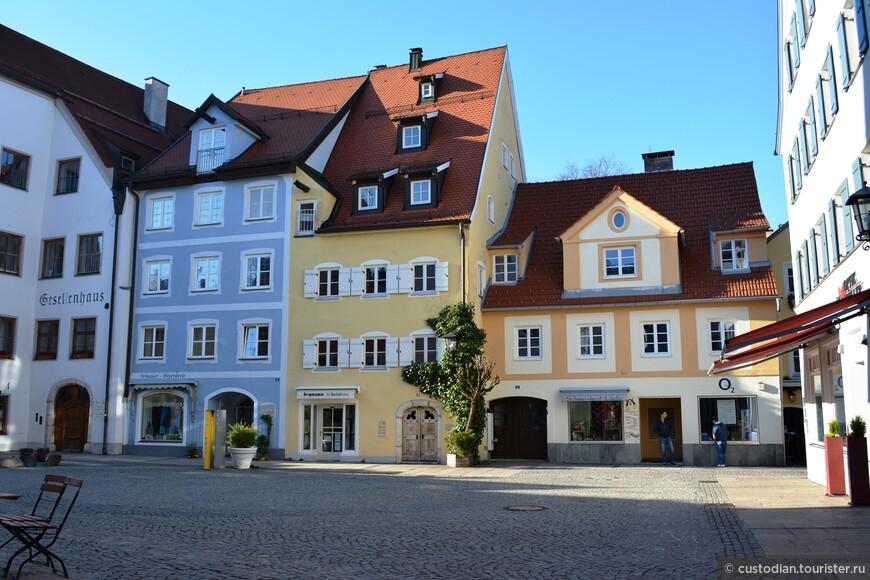 Улица Шранненгассе, соединяет две старых части города