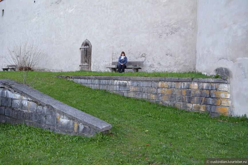 у стен замка Хоэ Шлосс