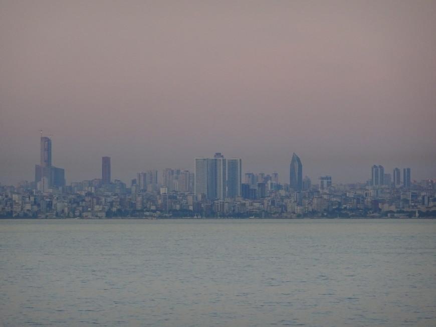 Стамбул с Босфора