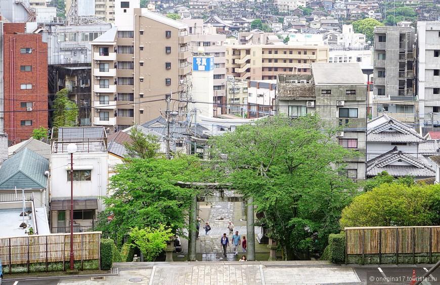 Азиатская хаотичность в Нагасаки прослеживается, да еще как прослеживается!