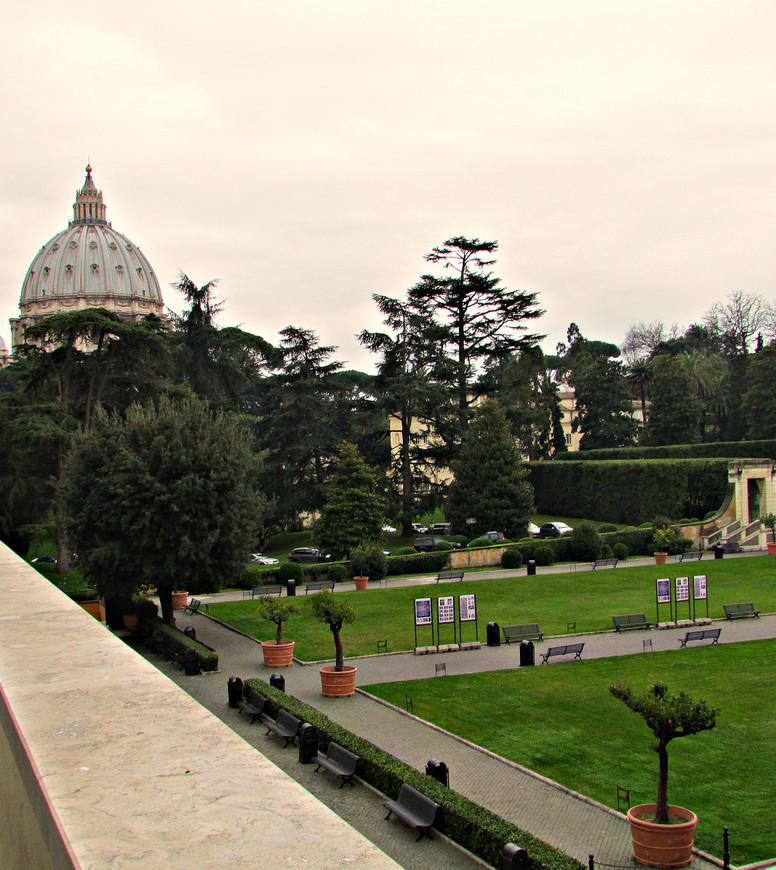 Сады Ватикана.