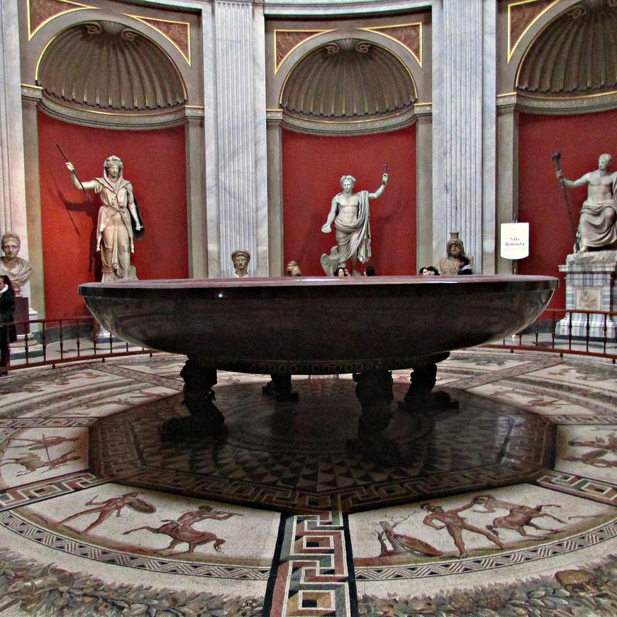 Ванна императрицы Поппеи, жены Нерона.