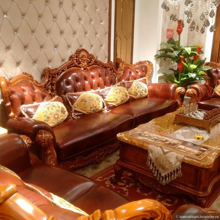 Мебель из китая фотоотчет