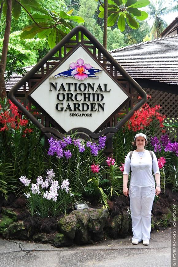 Ботанический сад Сингапура занимает что-то около 60 гектаров, поэтому чтобы совсем не потерять там счет времени, я бы рекомендовала сначала посетить основной пункт программы - Парк орхидей.