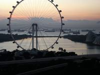 Marina Bay на рассвете