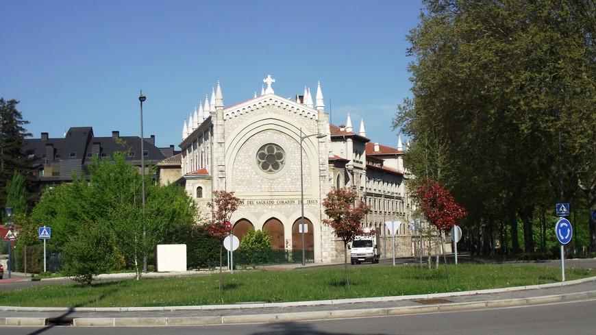 По дороге к Монастырю de Las Huelgas - одна из лучших школ Испани Colegio Internacional Campolara
