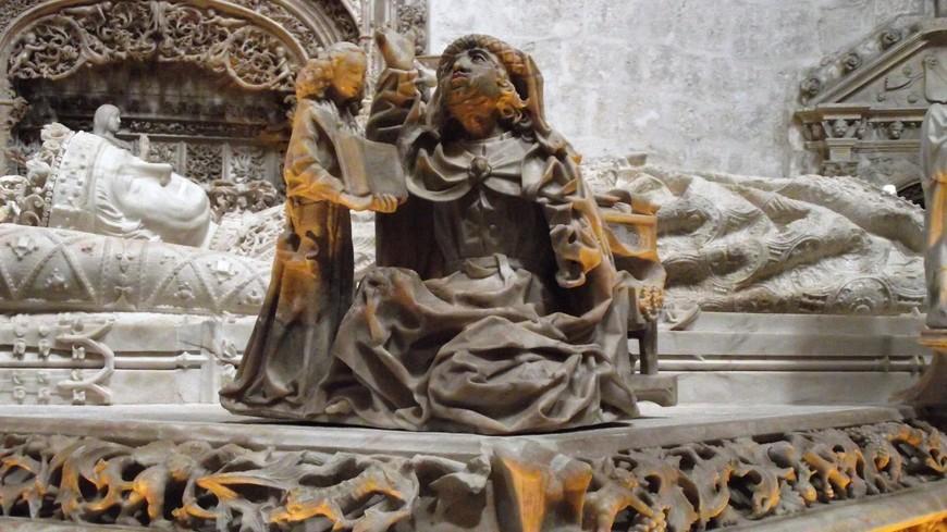 Cartuja de Miraflores. Матфей -  ангел...