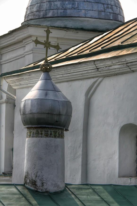 Башенка Никольского собора, находящегося внутри крепости
