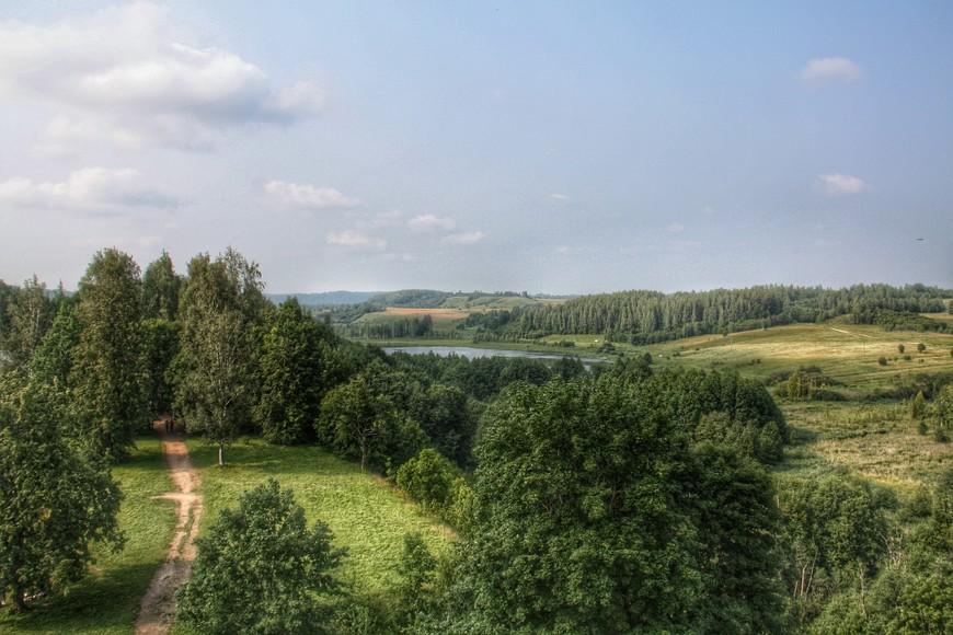 Дорога к Словенским ключам, они на озере Городищенском