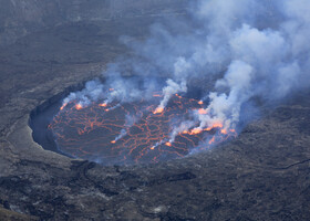 Вулкан Ньирагонго. Это не прогулка...