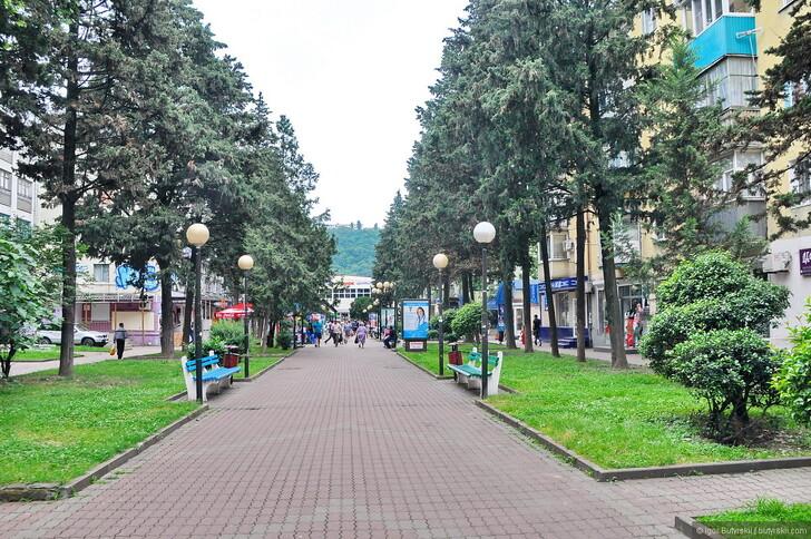 Пешеходная улица у Центрального рынка © Igor Butyrskii