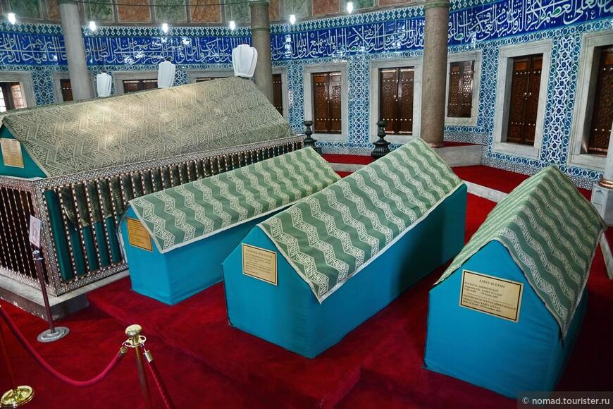 Мечеть Сулеймание, мавзолей султана Сулеймана