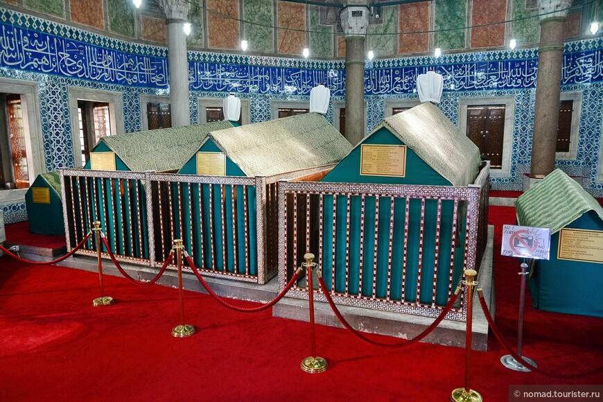 Мечеть Сулеймание, мавзолей султана Сулеймана.