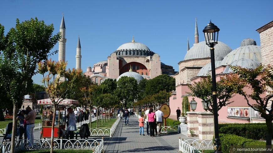 Парк Султанахмет.