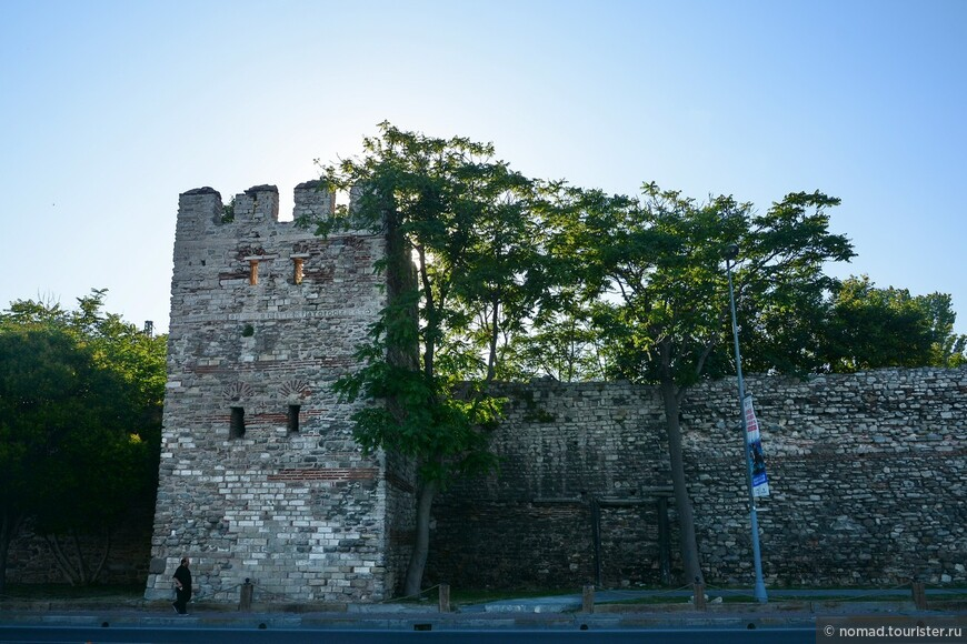 Византийские стены.