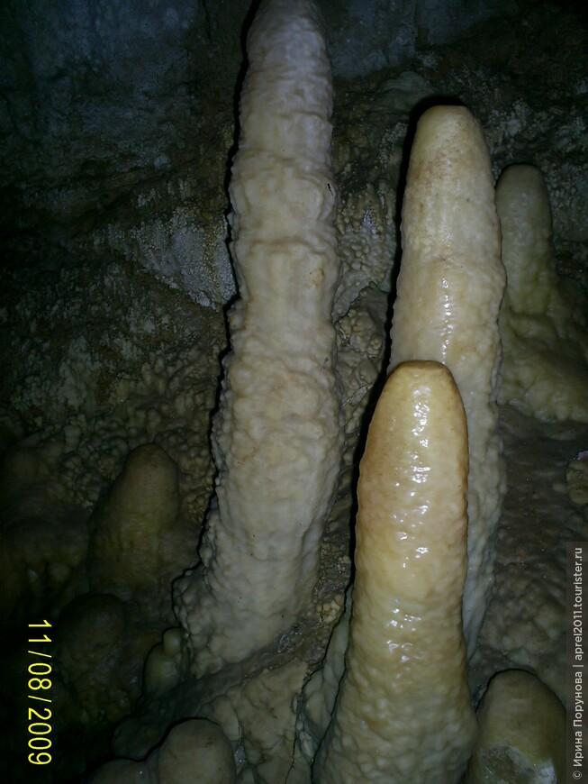 В новоафонской пещере...