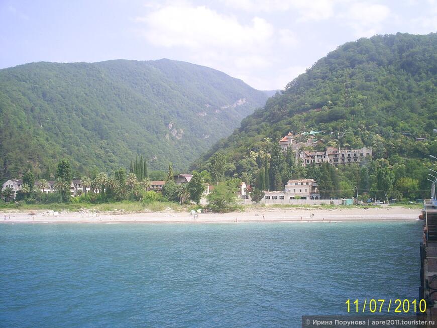 Абхазский пейзаж.