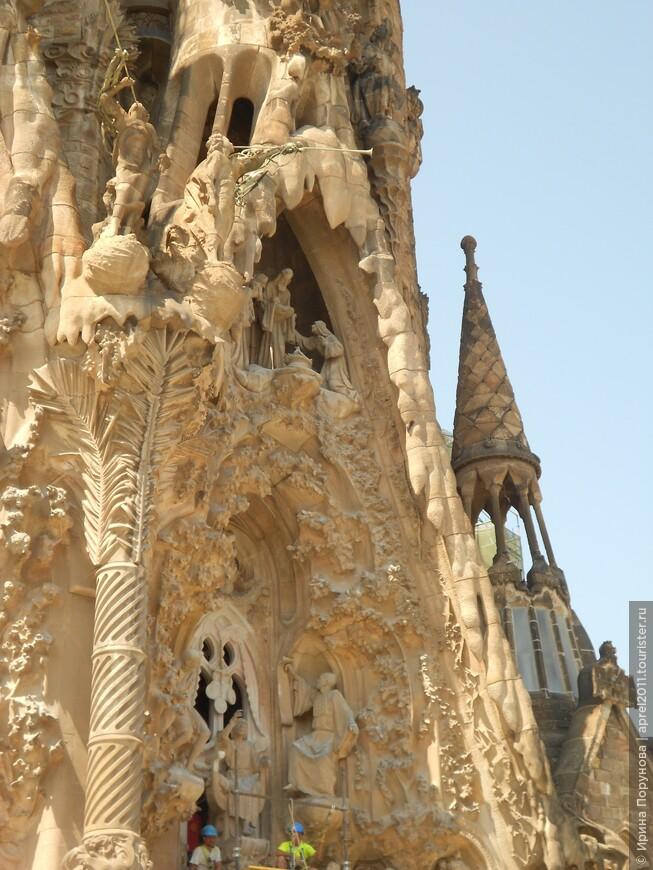 Храм Святого Семейства. Творение Антонио Гауди.