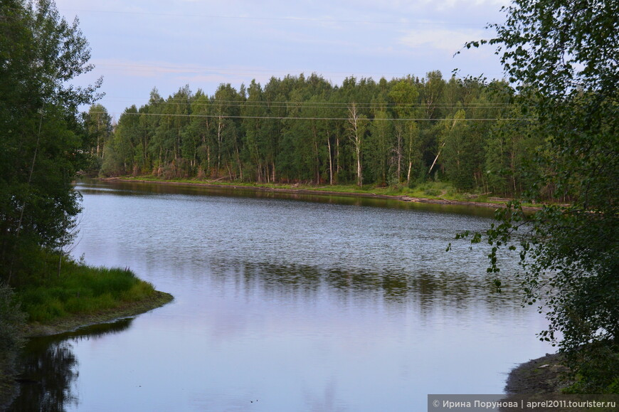 Река в пгт Пойковский