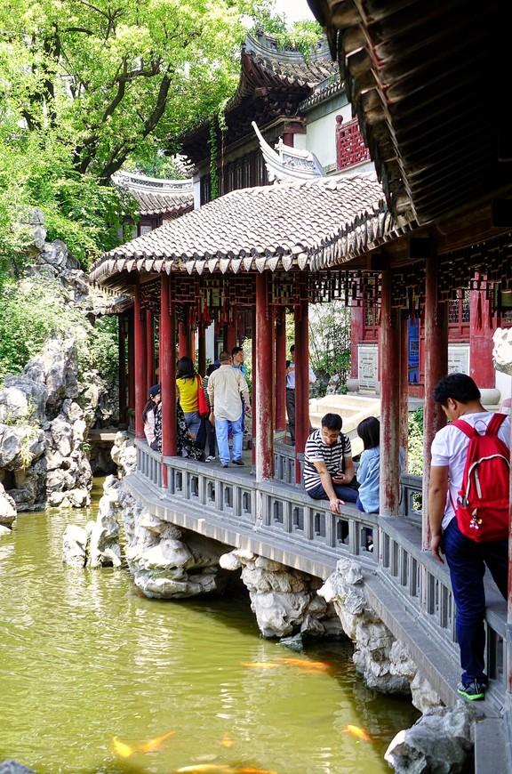 """В парках и садах берегут прошлое. Тут вам и озера с карпами, и черепашки, и китайцы, спешащие сделать фото """"на фоне""""."""
