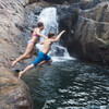 Развлечение на восточном водопаде Тан Майом