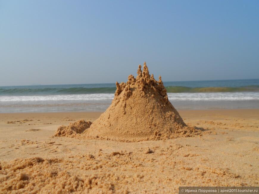 А чем ещё заняться на прекрасном гоанском пляже?