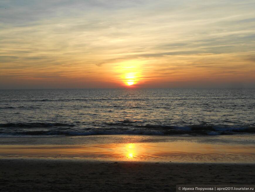 Закаты в Гоа всё-таки красивые...