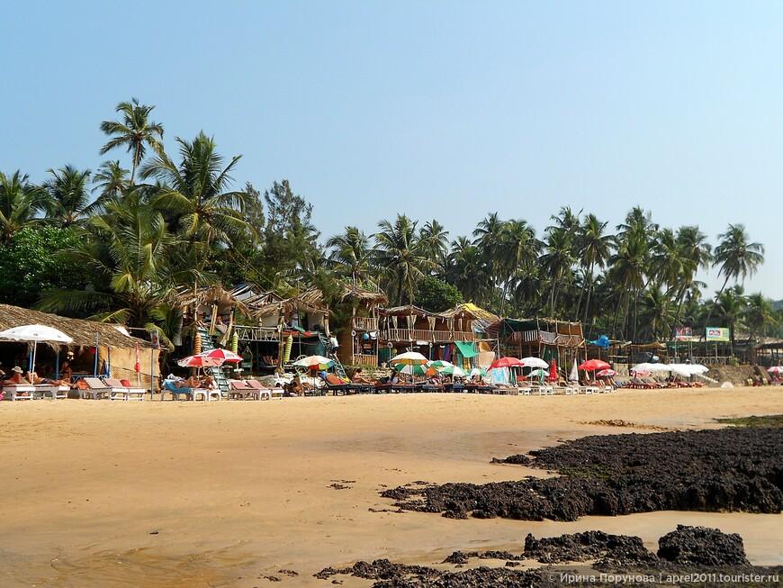 Пляж в Гоа.
