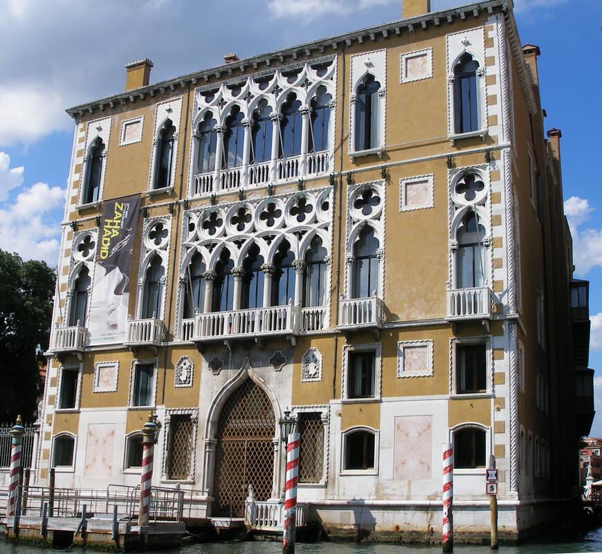Палаццо Кавалли-Франкетти. XV век. Сейчас здесь расположен  Институт наук, литературы и искусства.
