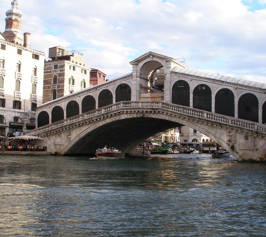Мост Риальто. Куда же без него?