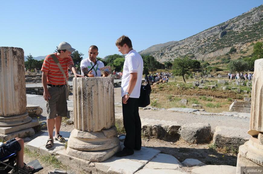 Вместе с Алексеем Адамовом в Эфесе