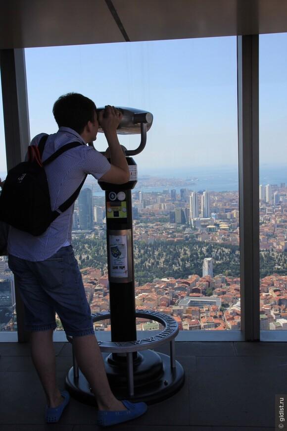 Самая Высокая точка Стамбула - Небоскреб Сапфир.