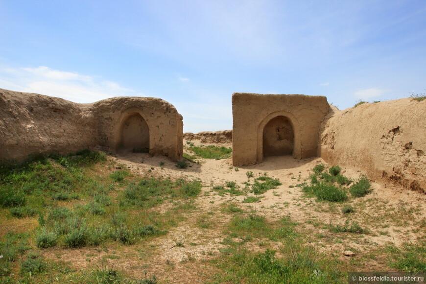 Древний Панджакент. Зороастрийский храм