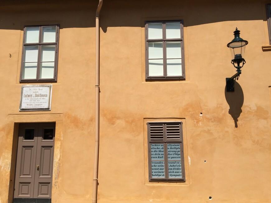 Дом-музей Бетховена расположен в здании по адресу Ратхаусгассе, 10. В 1821—1823 годах композитор останавливался здесь немалое число раз, так что атмосфера в доме буквально проникнута духом гения. Помимо прочего, рядом жили и влиятельные покровители Бетховена — Габсбурги, делившие время между резиденцией на Главной площади и дворцом Вайльбург.  Местом жительства герра Людвига был скромный двухэтажный особняк в классическом венском стиле. Для посещения открыты жилые покои дома и спальня Бетховена. В экспозиции дома-музея представлены подлинные предметы интерьера и личные вещи композитора, картины и рисунки, архивные документы и фото, повествующие об истории становления музея.