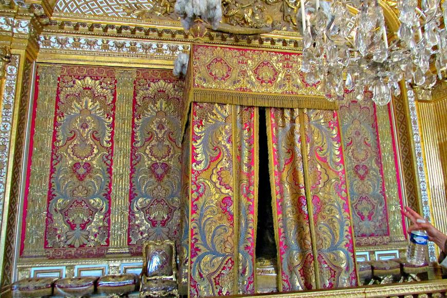 Спальня короля.